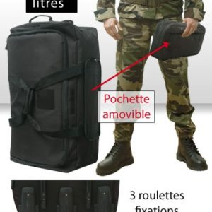Sac Cargo 3 Roues 120 Litres