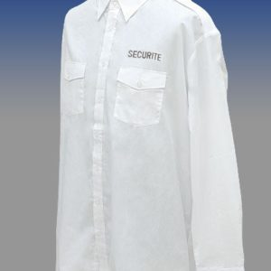 CHEMISE PILOTE MANCHES LONGUE BRODE SECURITE