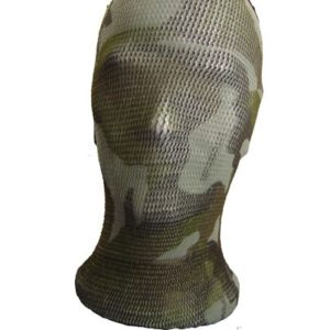 cagoule filet camouflage