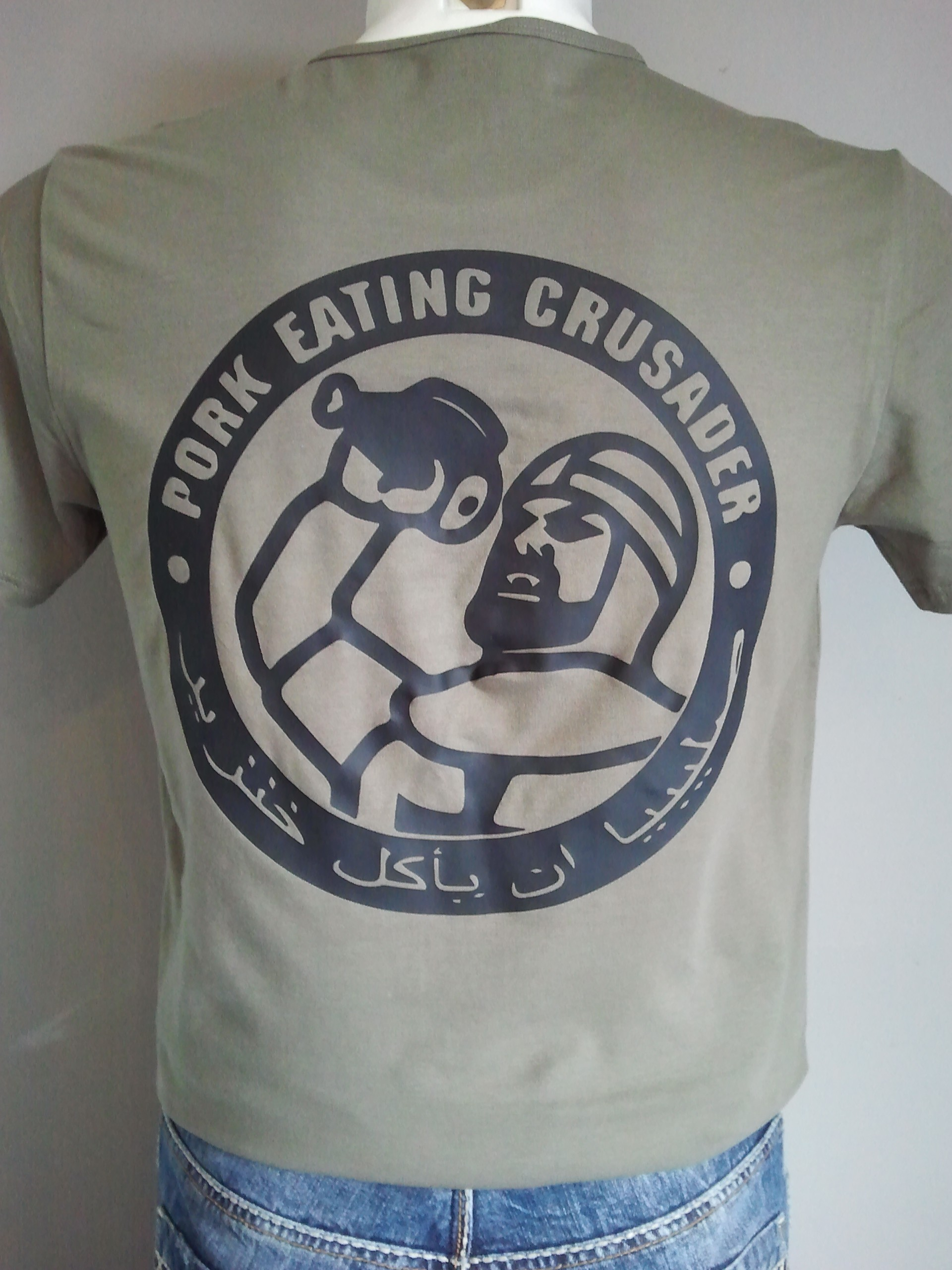 T-SHIRT OD CRUSADER