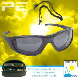 LUNETTES SOLAIRES BRANCHES FIXES +